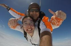 Batismo Queda Livre – Skydive Tandem Salto 5000M, Beja, Alentejo