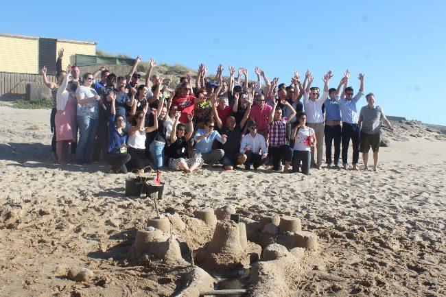 Beach event Cascais