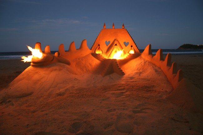 Sand castle Team building, Portugal