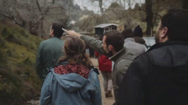 CSR reforesting Portugal, Team buiding